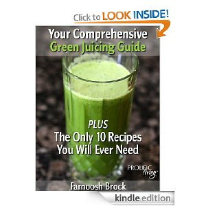 Need help? 10 Green Juice Recipes You'll Ever Need - This is a comprehensive step-by-step guide to green juicing for both beginners and advanced juicers. It teaches you everything you need to know and understand to start and maintain a healthy and fulfilling green juicing journey. It highlights the common mistakes to avoid and ways to stay motivated after the initial excitement wears off. It comes packed with the ONLY 10 juicing recipes you will ever need and with suggested modifications, special benefits and best uses for each recipe.